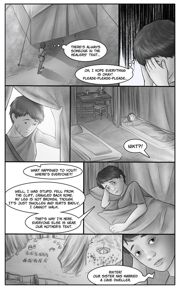 Healers' tent